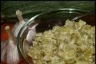 Кабачки со сметаной и чесноком