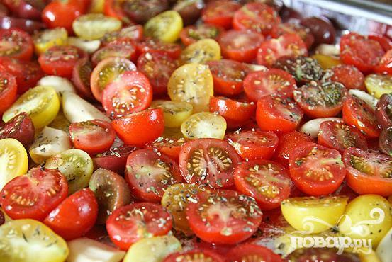 помидоры черри в духовке рецепт с фото