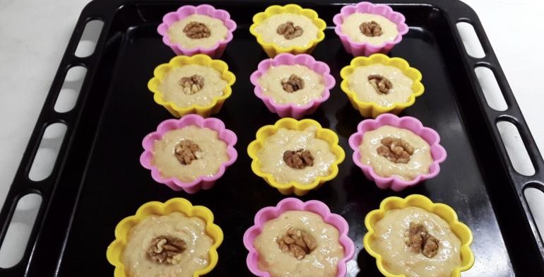 Кексы без дрожжей - фото шаг 6