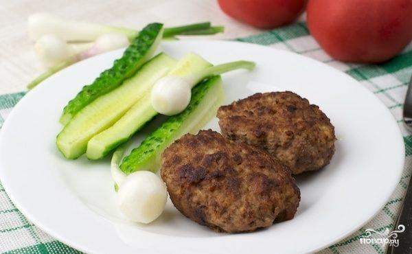 котлеты из мяса свинины и говядины рецепт