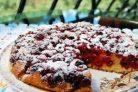 Вкусный вишневый пирог (оригинальный)