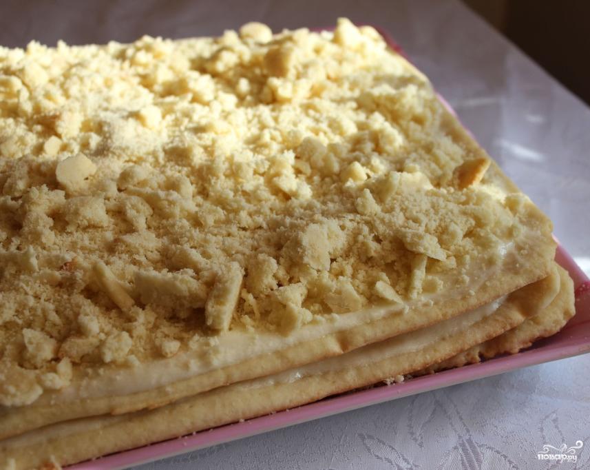 Торт наполеон рецепт с заварным кремом видео 30