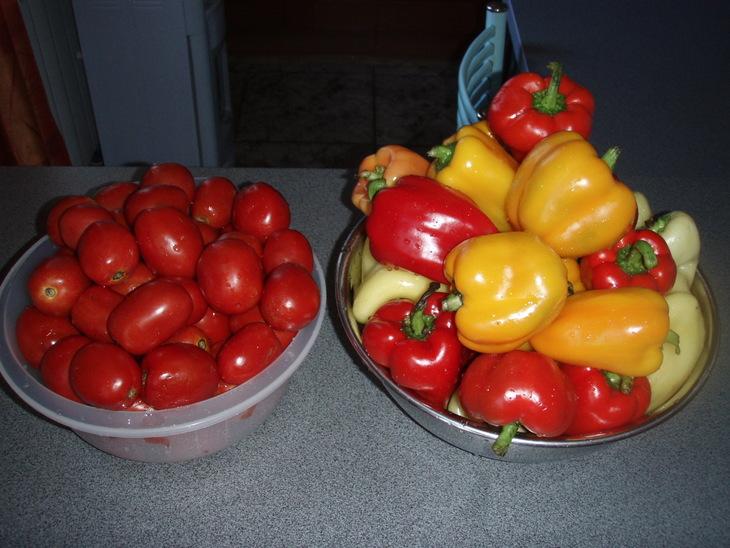 Рецепт Лечо из помидоров и перца