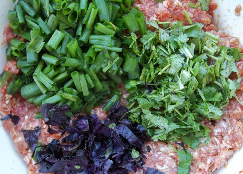 Овощи, фаршированные фаршем - фото шаг 2