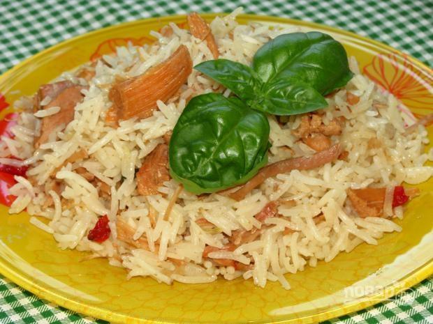 Рисовая каша с тушенкой - фото шаг 4