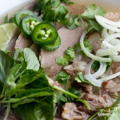 Вьетнамский суп Фо - фото шаг 13
