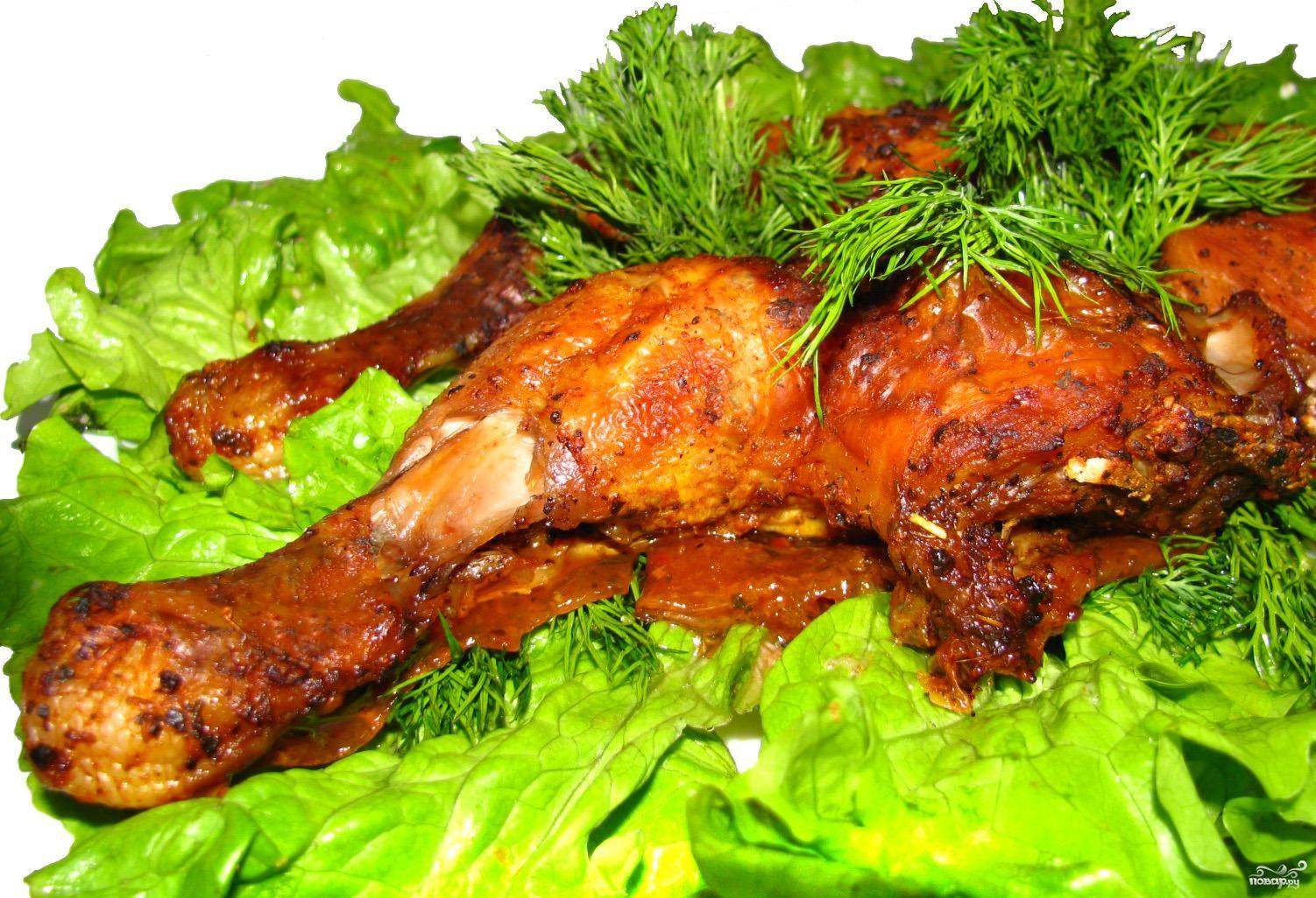 Цыплята жареные