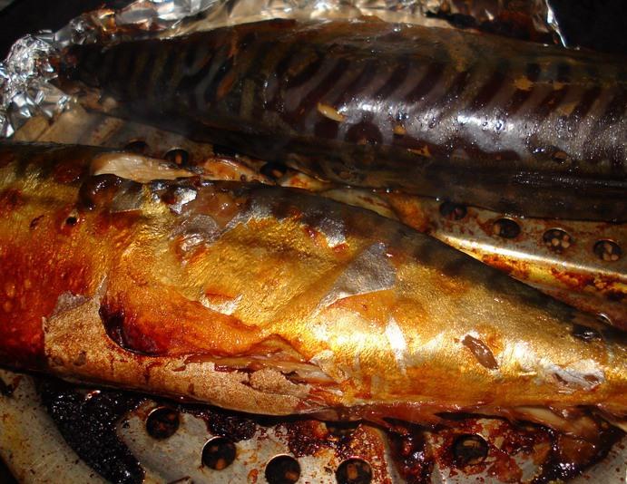 Копченая рыба   - фото шаг 7