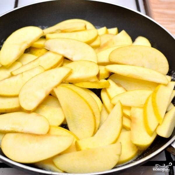 Жареные яблоки - фото шаг 3