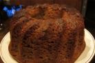 Кекс на кефире с вареньем