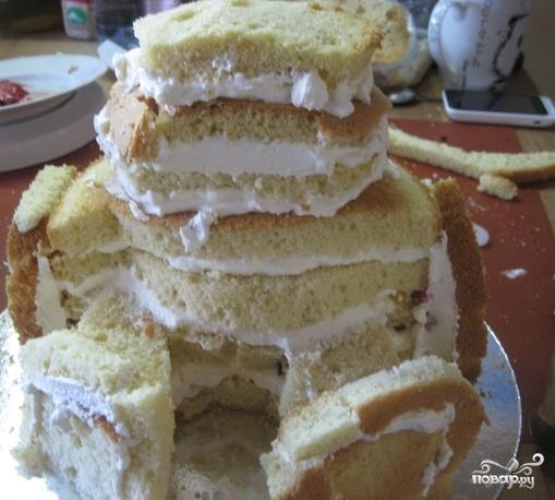 "Торт ""Медвежонок"" - фото шаг 10"