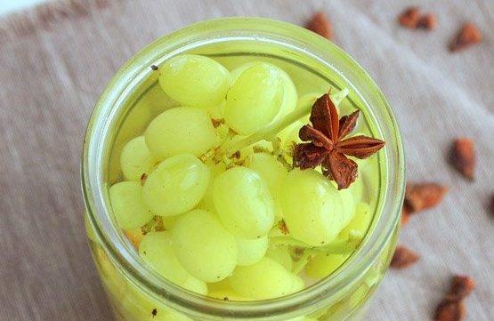Виноград в сиропе - фото шаг 5