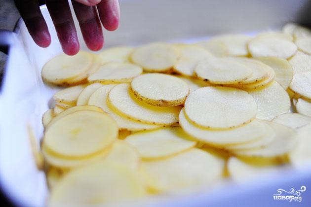 Запеченный картофель с ветчиной - фото шаг 5