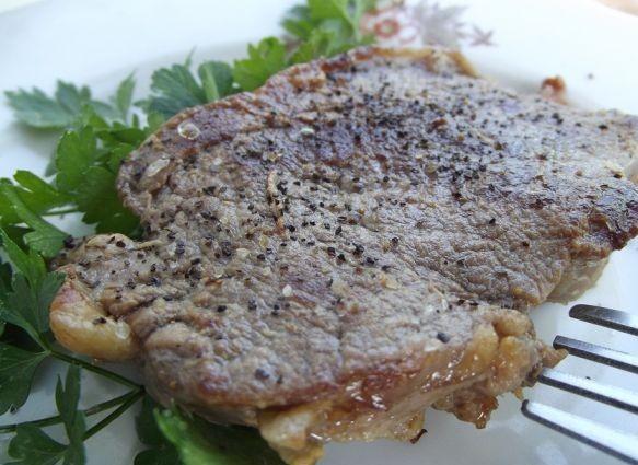 Сочный стейк из говядины - фото шаг 7