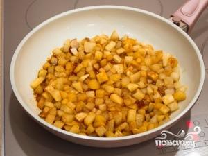 Пирог с карамелизированными грушами - фото шаг 3