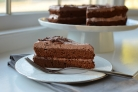 Шоколадный воздушный торт