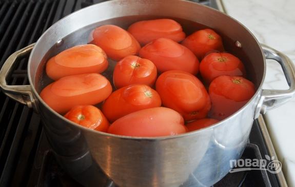 Итальянский томатный соус с базиликом