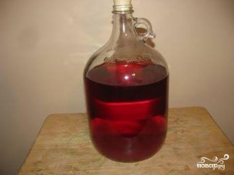 Рецепт Вино из старого варенья