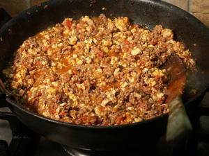 Лазанья с мясом и овощами - фото шаг 3