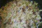 Кабачки, тушеные с грибами