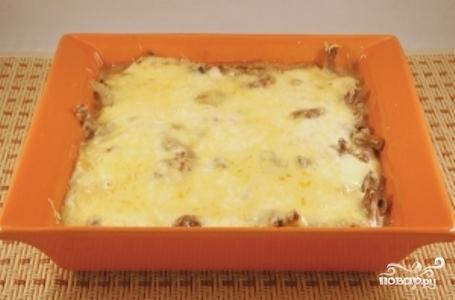 Шампиньоны с сыром в духовке - фото шаг 5
