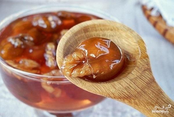 Рецепт Варенье из крыжовника с орехами