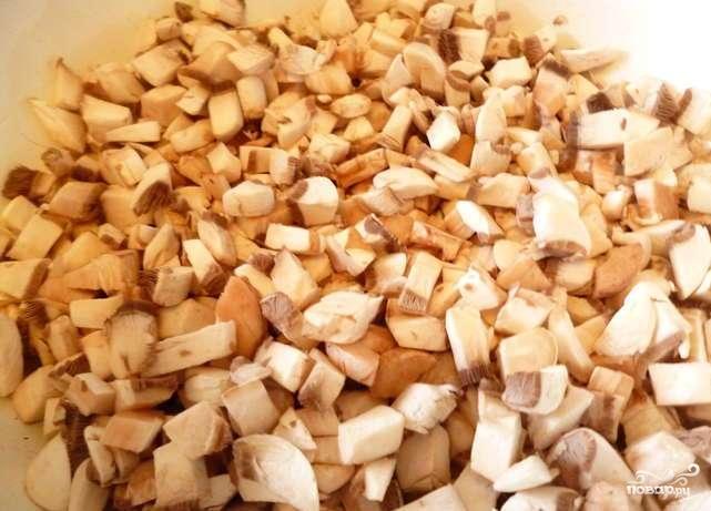 Печеночные котлеты с грибами - фото шаг 1