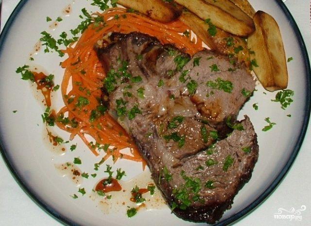 Мраморная говядина в духовке рецепт с фото