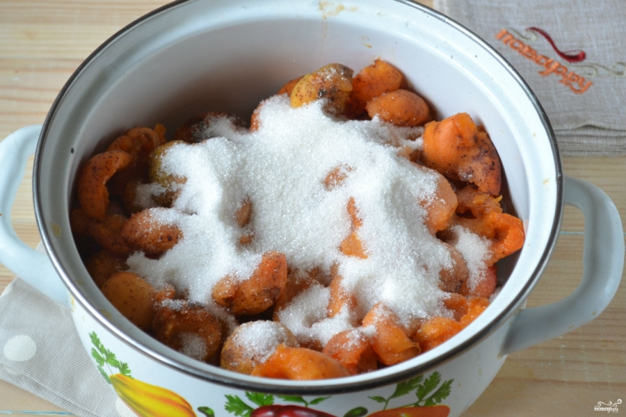 Повидло из абрикосов на зиму - фото шаг 2