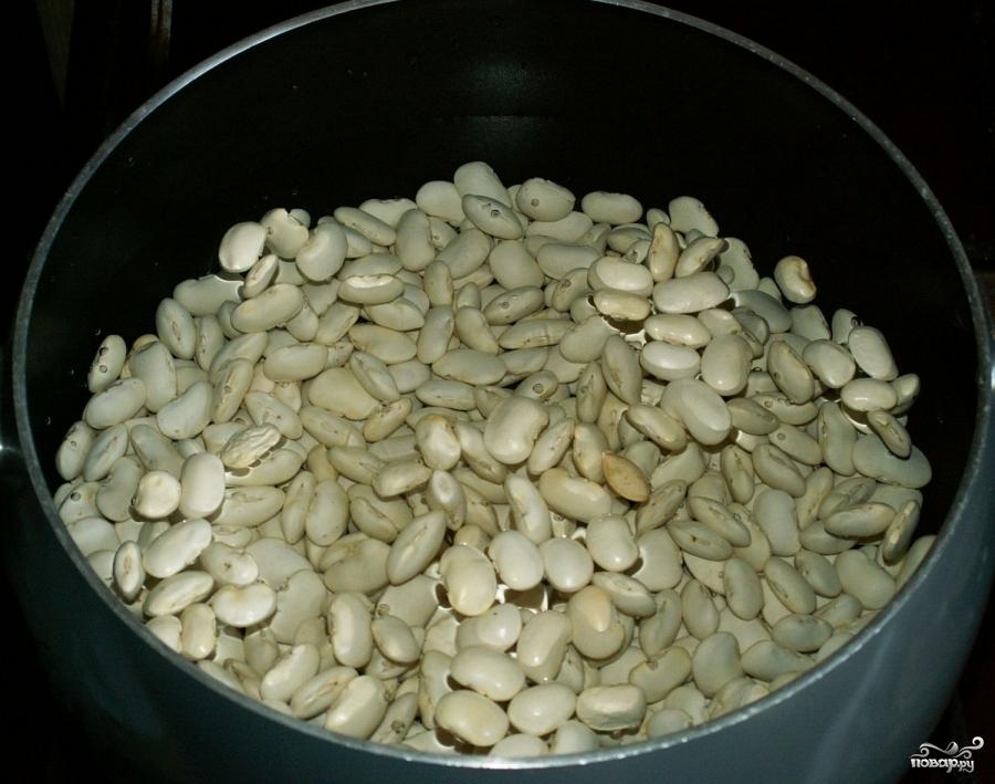 Рецепт Фасоль консервированная на зиму