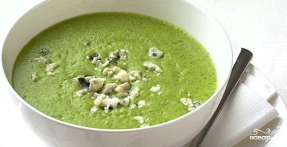 Рецепт Сырный крем-суп с брокколи