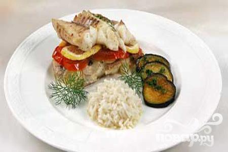 Рецепт Рыба с лимоном по-гречески