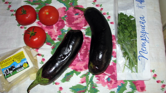 Рецепт Баклажан по-болгарски