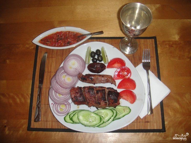 Дагестанский шашлык