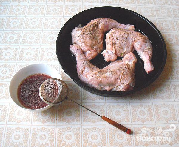 Куриные окорочка в сливовом маринаде - фото шаг 3