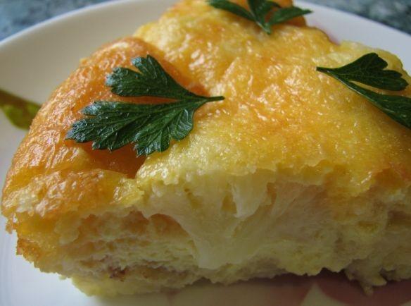 Запеканка из цветной капусты с яйцом - фото шаг 6