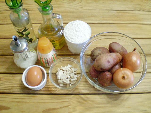 Пирожки с начинкой - фото шаг 1