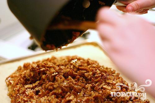 Печенье с медом и орехами - фото шаг 3