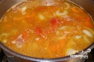 Суп с тефтелями - фото шаг 7