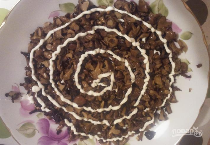 салат белая береза рецепт с фото пошаговый рецепт