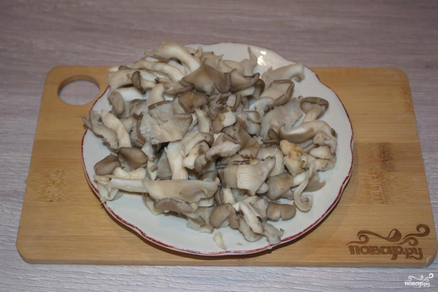 Вешенки грибы рецепты с пошагово в