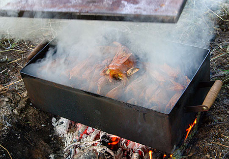 Засолка грудинки горячим способом - фото шаг 2
