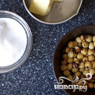 Печенье с шоколадом и лесными орехами - фото шаг 1