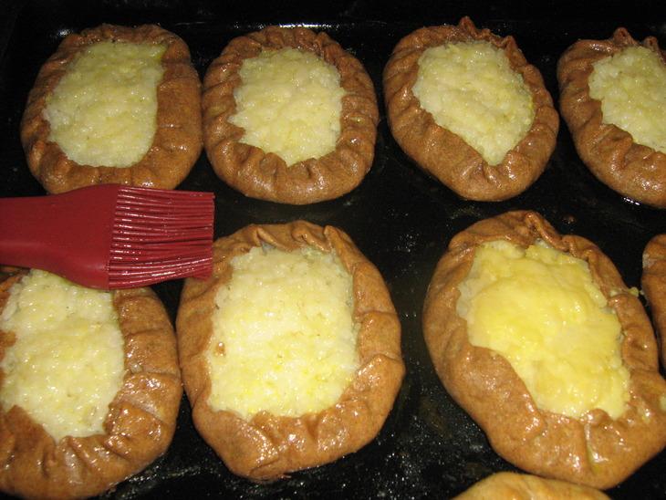 Калитки с картошкой - фото шаг 8