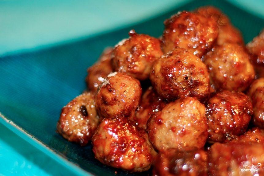 Рецепт Куриные тефтели в духовке