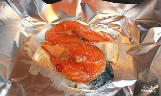 Маринад для лосося в духовке