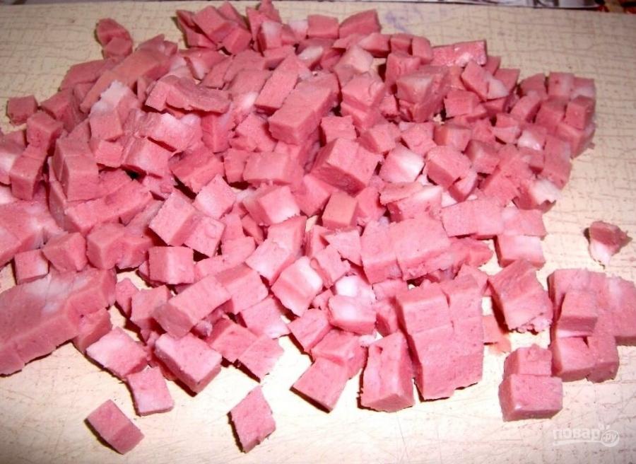 рецепт приготовления окрошки на квасе с фото