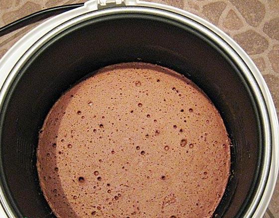 Коржи для торта в мультиварке - фото шаг 4