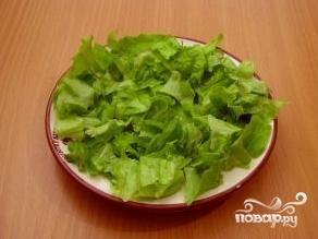 Салат с семгой и картофелем - фото шаг 7