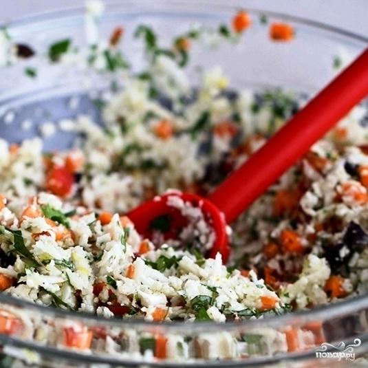 Легкий салат на ужин - фото шаг 7